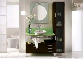 Bathroom Cabinets With Lights Lime Light Modern Bathroom Vanity Set