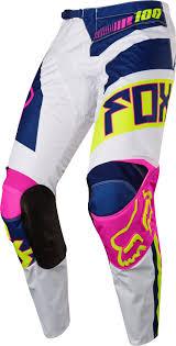 fox honda motocross gear 2017 fox falcon 180 hc motocross pants navy white 1stmx co uk