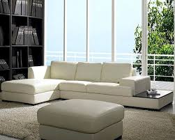 low profile leather sectional sofa set 44lbo3893