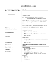 biodata format for freshers resume format for freshers download fresher resume format 30