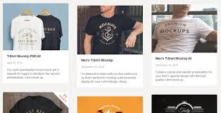 40 free t shirt mockups psd templates for your online store in 2018