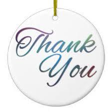 thank you ornaments keepsake ornaments zazzle