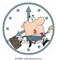 clipart uomo clipart uomo affari ritardo lavoro k5152691 cerca clipart