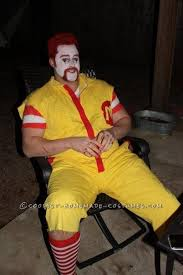Ronald Mcdonald Halloween Costume Angry Ronald Mcdonald Wendy Couple Costume