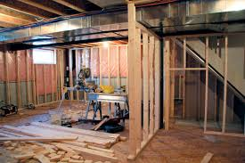 exterior basements and garage conversion construction bear with