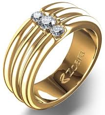 9 best designs of gold rings with stones styles at