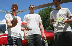 buy football boots germany mezut ozil and his germany team mates presented with adidas