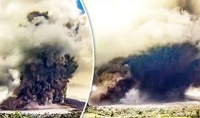 earthquake bali 2017 bali volcano update shocking footage shows volcano s sudden