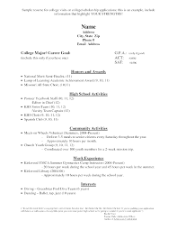 resume exles for highschool students browse resume sle scholarship resume for a highschool student