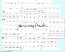 cursive handwriting practice sheets backtoschoolweek kleinworth