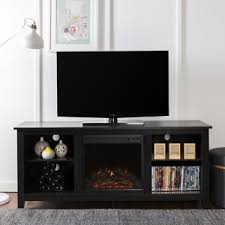 Electric Fireplace Tv Stand 58 Inch Electric Fireplace Tv Stand In Espresso Free Shipping