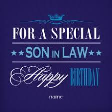 son in law birthday card u2013 gangcraft net