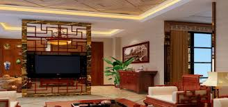 living hall interior design wall shelves and of fame on