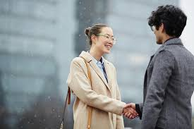 business greeting business greeting in stock photo image 89908386