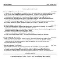 Service Manager Resume Sample by Field Service Manager Resume
