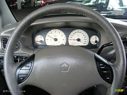 2000 chrysler town u0026 country limited taupe steering wheel photo