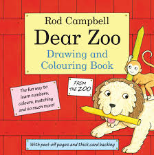 dear zoo drawing colouring book rod campbell