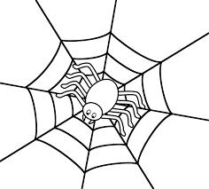 halloween spider webbing transparent background halloween spider clipart black and white clipartsgram com