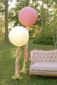 large white balloons 7 wedding streamer trends it girl weddings