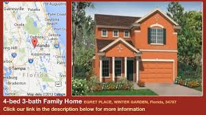 4 bed 3 bath family home for sale in winter garden florida on