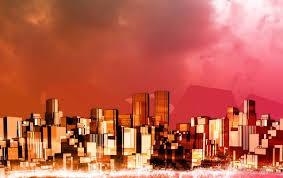 roja de la ciudad fondos de pantalla roja de la ciudad fotos gratis