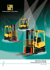 Electrics Range Counterbalanced Lift Trucks Hyster Pdf