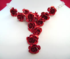 red rose necklace images 63 roses necklace beautiful rose necklace pictures photos and JPG