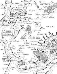 Williamsburg Brooklyn Map Brooklyn Fantasy Map By Mapsburgh On Deviantart