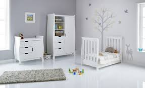 White Sleigh Cot Bed Stamford Mini Sleigh Cot Bed In White