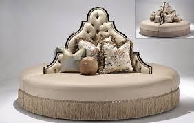 luxury furniture round sofa foyer or lobby seating