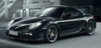 cayman porsche black new cayman s black edition adds horsepower features and value 9