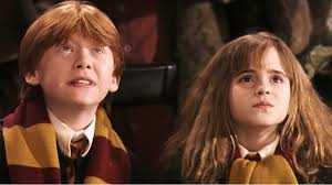 harry potter hermione harry potter book titles as named by hermione and ron nerdist