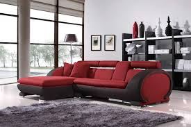 Red Living Room Chair by Create An Interesting Look Through Black And Red Living Room