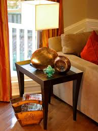 furniture simple end table decorating ideas for bedroom space