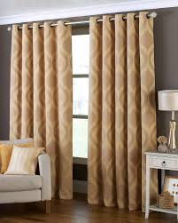Coloured Curtains Arch Ready Made Eyelet Curtains Gold Coloured Curtains 3