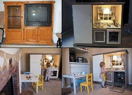 tv cabinet kids kitchen 58 best repurposed play kitchen images on pinterest play