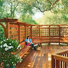 70 best deck bench seating design ideas for your backyard