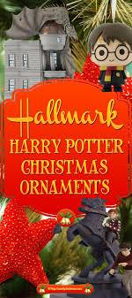 hallmark harry potter ornaments comfy