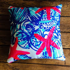 Lilly Pulitzer Home Decor Fabric Shop Lilly Pulitzer Pillow On Wanelo