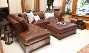 Top Grain Leather Sectional Sofas Top Grain Leather Sectional Sofa Elements Corsario With Right Arm