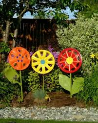 Garden Crafts Ideas Garden Decorating Ideas 78 Best Ideas About Diy Garden Decor On