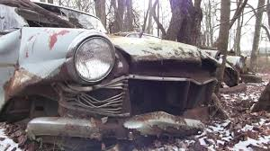 Old Ford Truck Graveyard - abandoned junkyard truck and car graveyard new jersey youtube