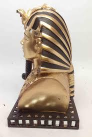 King Home Decor Amazon Com Ancient Egyptian Pharaoh King Tut Bust Mask Statue