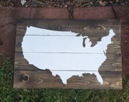 wooden united states wall usa map pallet us map wall home decor pallet map