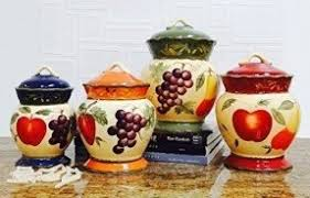 colorful kitchen canisters tuscan style canister sets tuscan canisters the best tuscan