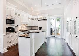 Beautiful White Contemporary Kitchen Designs Designing Idea - Contemporary white kitchen cabinets