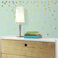 gold dot wall decals target color the walls of your house