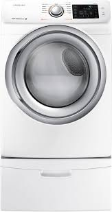 Samsung Pedestals For Washer And Dryer White Samsung Dv42h5200gw 27 Inch Gas Dryer With Steam Wrinkle Prevent