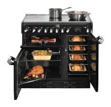 Home Rotisserie Design Ideas Elan 90cm Upright Cooker Black Falcon Falconaustralia Kitchen