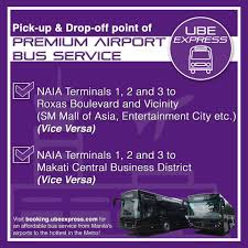 ube express ride our premium airport bus service from facebook